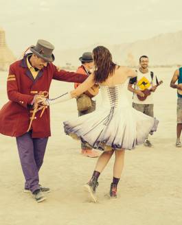 A Burningman Wedding