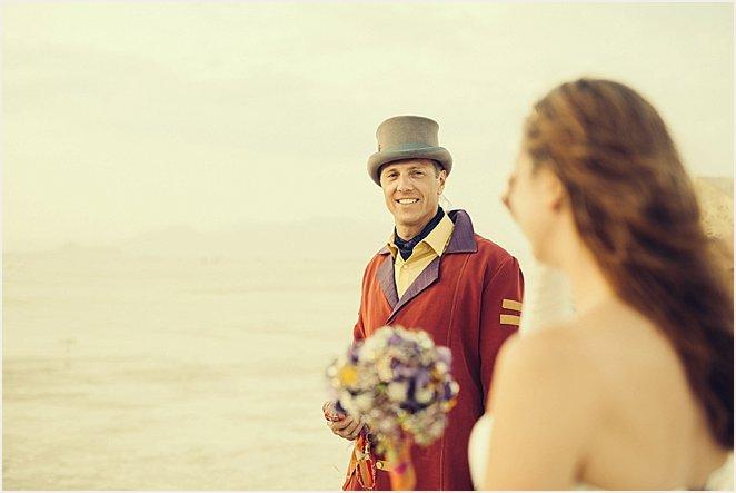 A Burning Man Wedding