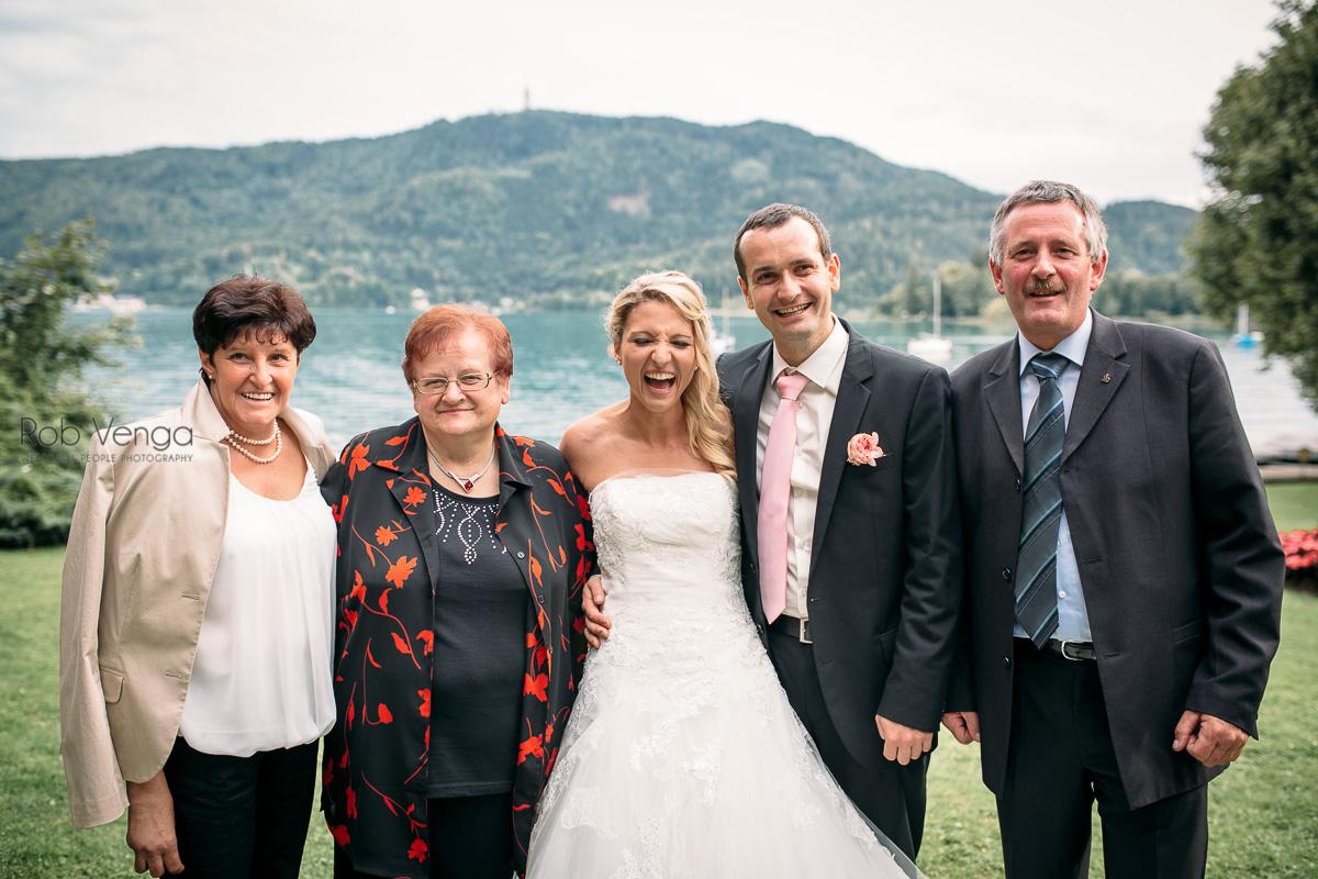 """Familienfotos und """"der Zeremonienmeister"""""""