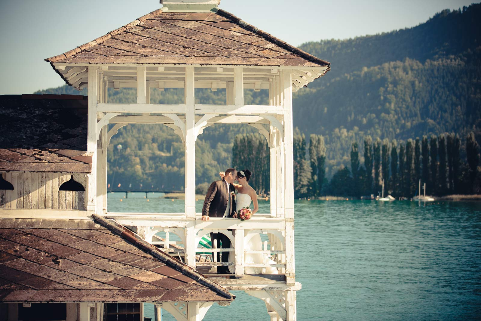 Hochzeit am Wörthersee, Werzers badehaus