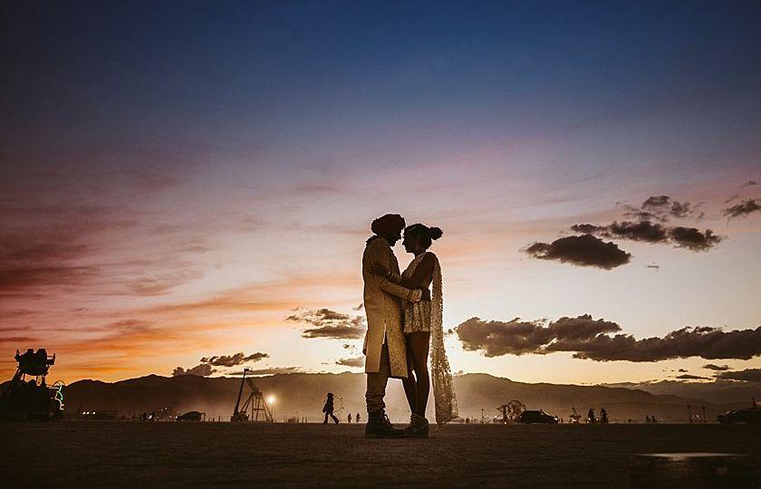 Burningman Wedding 2015