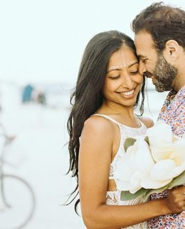 Avni & Pavan, eine indisch-  internationale Wedding bei Burningman in Nevada