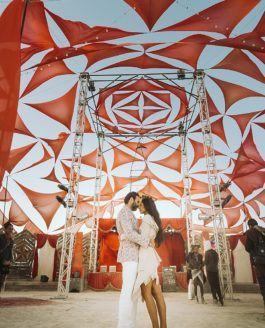 Avni & Pavan, an Indian inspired International Wedding at Burningman