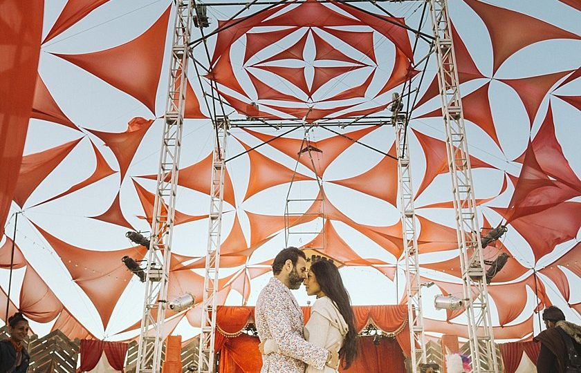 Burningman Indian Wedding